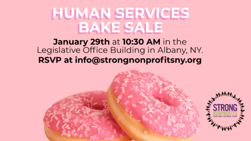 Save the Date! Human Services Bake Sale